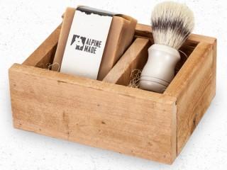 Alpine Made Organic Goat Milk Men's Shaving Kit