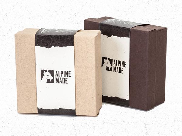 Alpine Made Eco Friendly Goat Milk Soap Box