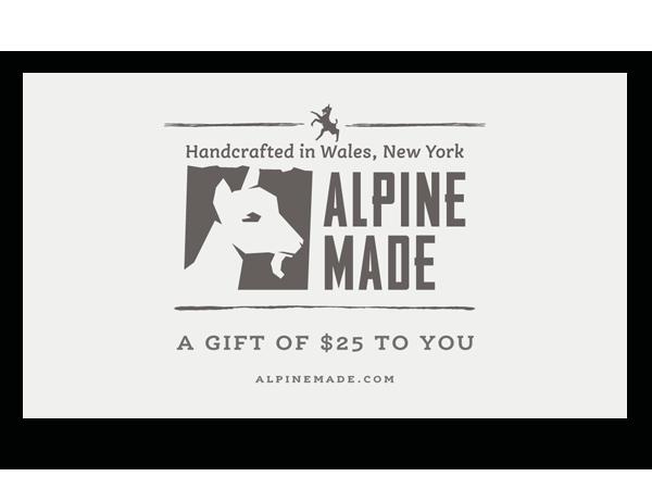 Alpine Made $25 Gift Card