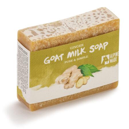 Alpine Made Bootleg Bucha Ginger Goat Milk Soap