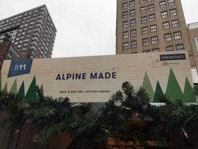 Alpine Made goes to NYC